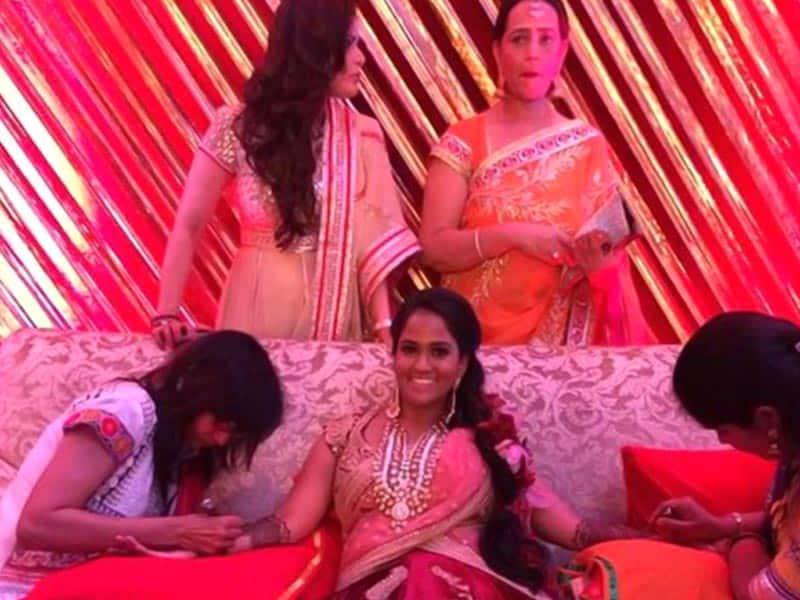 Salman Khan's sister Arpita's Sangeet Ceremony -Twitter