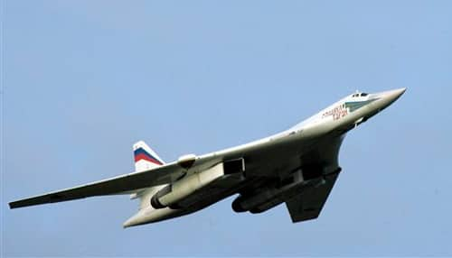 Russia's modernised Tu-160 fighter jet completes first flight