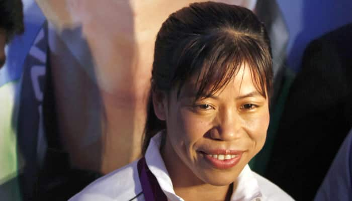 Mary Kom receives Rs 5 lakh for boxing academy