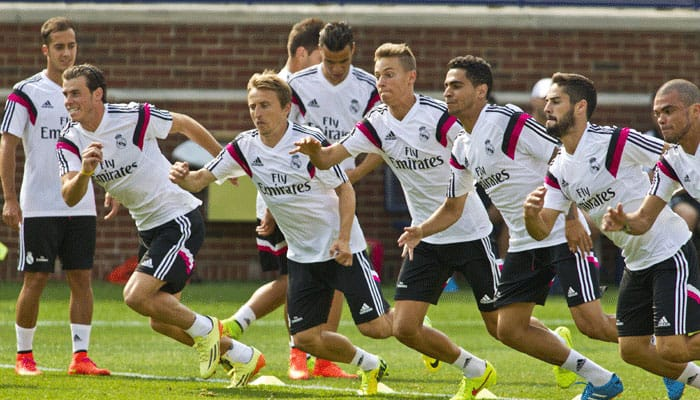 Real Madrid giants enter land of Eibar`s little people