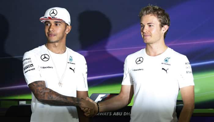 Abu Dhabi Grand Prix: Hamilton, Rosberg fight for final glory