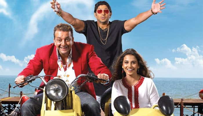 'Munnabhai' makers jokingly pitched Gandhi as 'topless item number'