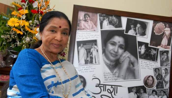 Asha Bhosle croons for Marathi film