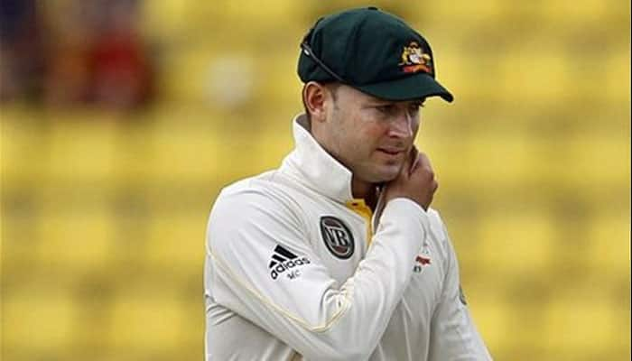All for Michael Clarke! Club captain declares innings at 17-0