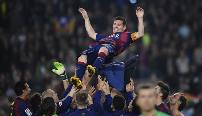 Champions League: More Lionel Messi history up for grabs as Barca visit APOEL