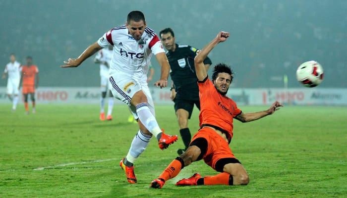 ISL: Delhi Dynamos eke out tough 2-1 win over NorthEast United