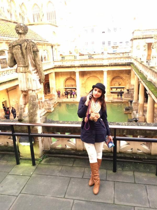 PARINEETI CHOPRA :-The gorgeous Roman baths!!! #history -twitter