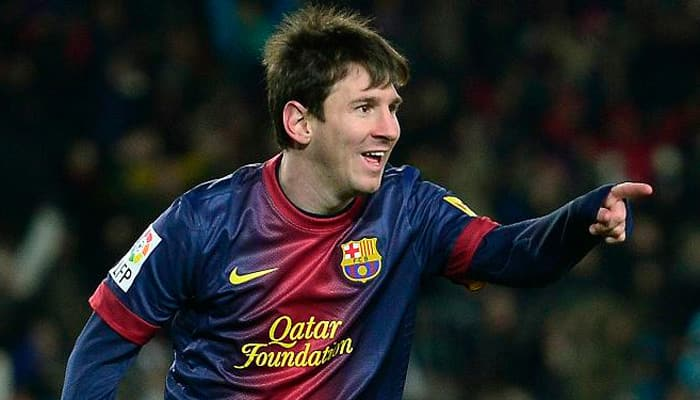 Lionel Messi breaks Champions League scoring record