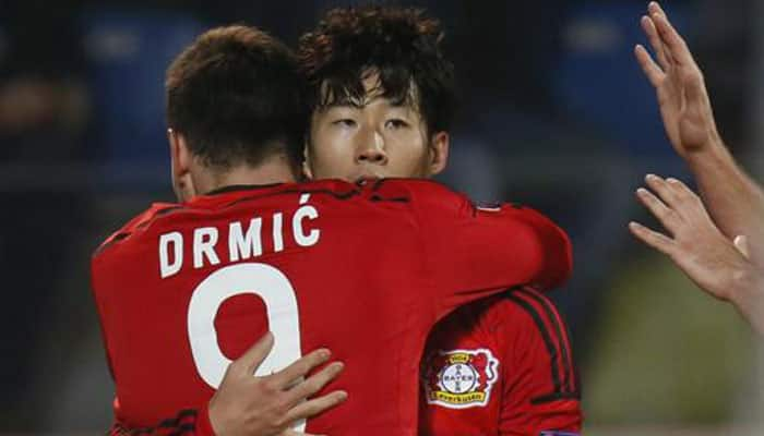 Hot-shot Son Heung-Min aims to fire Bayer Leverkusen into last 16