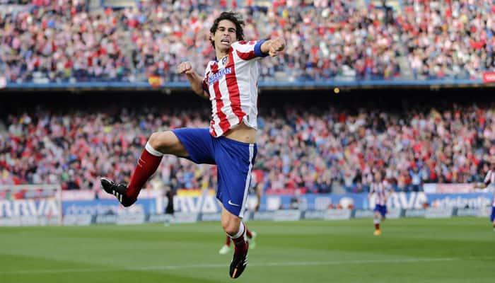 Atletico Madrid's in-form Tiago enjoying himself ''like a child''