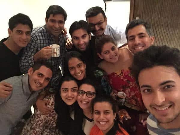 Arpita Khan Sharma :-My hubby,cousins & friends! @aaysharma @Jani23N @Nataschacharak @niyanta1212   -twitter