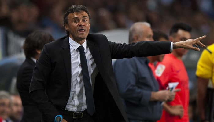 Barcelona not lucky to snatch win, insists Luis Enrique
