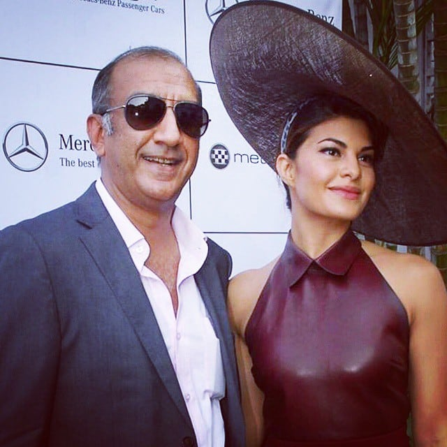 Jacqueline Fernandez -: The 'dirty' Darby!!! theraces thank you @milanluthria shaanmu @aastha06 -instagram