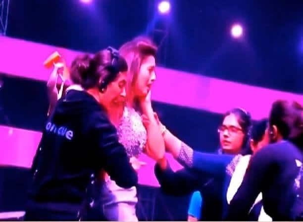 Gauahar Khan Slapped During Reality Show Shoot.