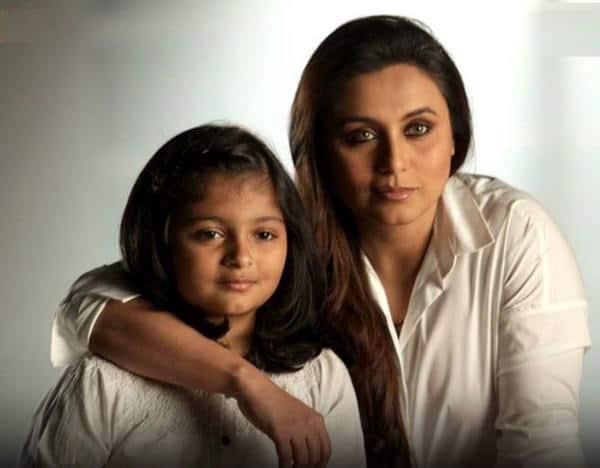Rani Mukherjee :-With my lovely niece Myesha!! :)  -twitter
