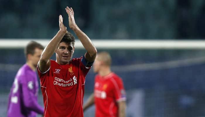 Steven Gerrard coy over Liverpool contract talks