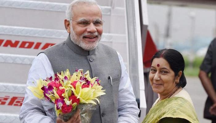 New global confidence in India: Sushma Swaraj on PM's foreign visits
