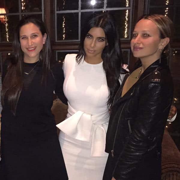 Kim Kardashian :- Sister sandwich @sjmeyer02 @jenneyerjewelry  -twitter
