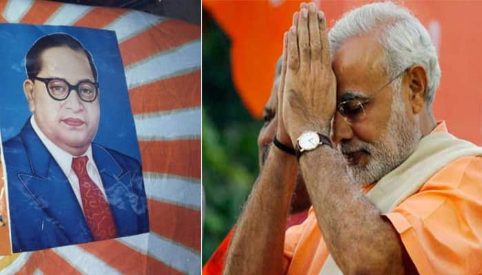 PM Narendra Modi pays tribute to BR Ambedkar on 'Mahaparinirwan Diwas'