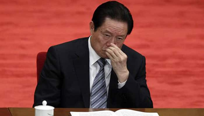 China arrests ex-security chief for corruption, leaking secrets