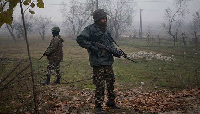 Grenade attack at polling booth in J&K's Pulwama, CISF jawan injured