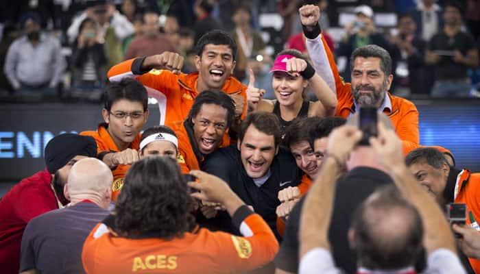 "Dancing Roger Federer hails new IPTL as ""crazy but fun"""