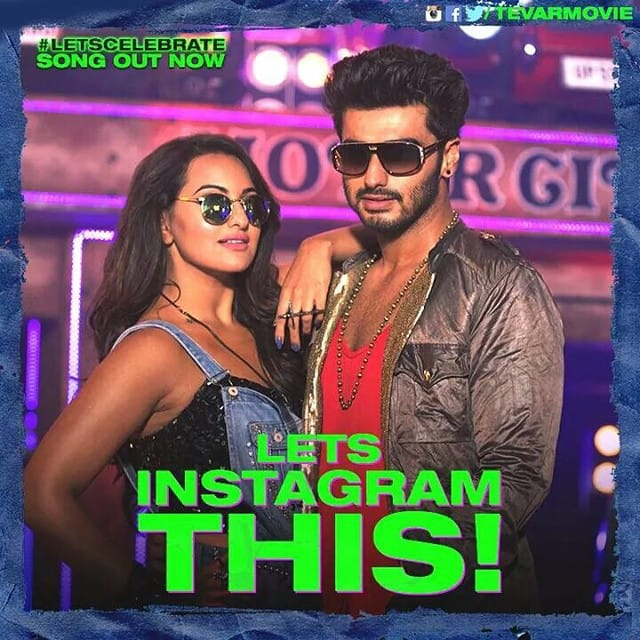 Sonakshi Sinha :- Lets instagram this moment moment moment! Radhika and her mood mechanic Pintoo aka arjunk26! -instagram