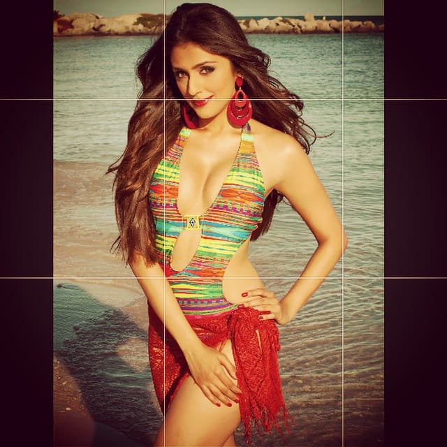 aarti chabria :- .. #swimsuit picture 4 all u #beach #lovers #miami #goa taken by alejandro fenice.. Cause i touched the 50K follower mark on #twitter! #yay #celebration #beauty #shoutout #tanned #seashore #love -instagram