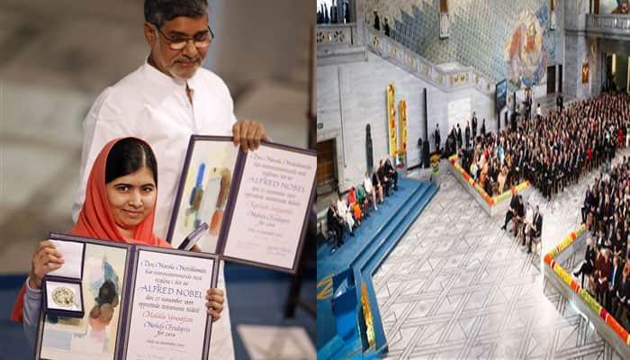 Kailash Satyarthi, Malala Yousafzai receive Nobel Peace Prize: As it happened