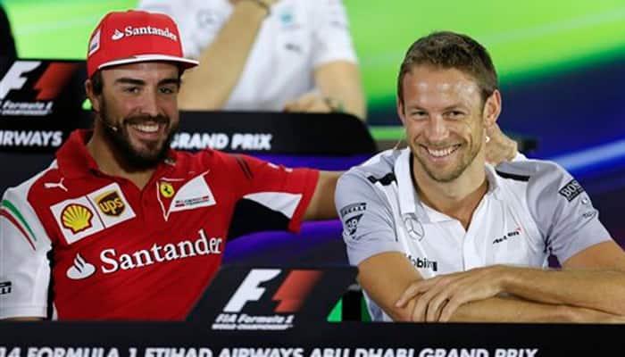 McLaren name Fernando Alonso, Jenson Button as 2015 drivers