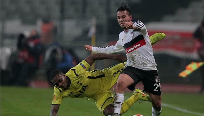 Besiktas game halted twice as floodlights fail