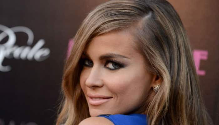 Carmen Electra goes topless for stripper's role