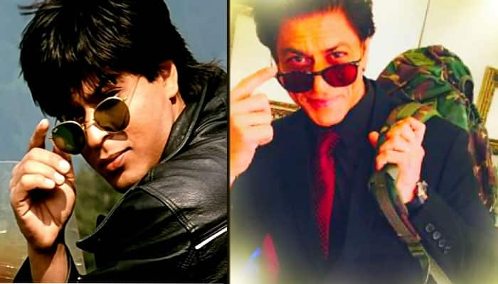 Shah Rukh Khan reminisces his look from 'DDLJ'!