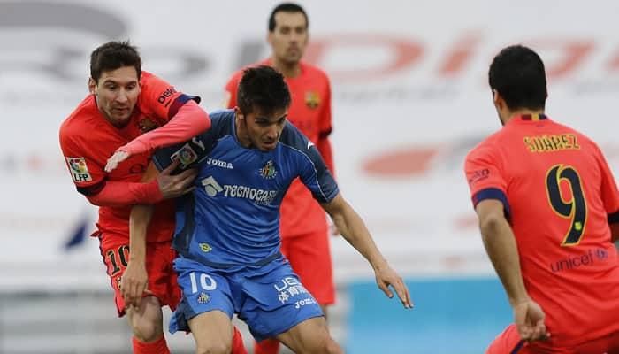 Barcelona slip up in Getafe stalemate