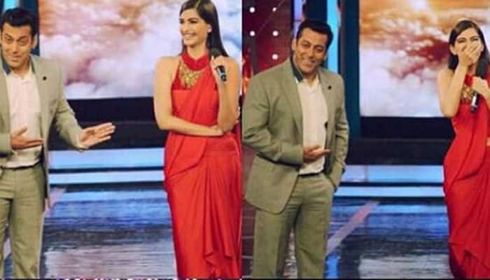 `Bigg Boss 8`: Arbaaz, Sonam have a blast with Salman Khan!