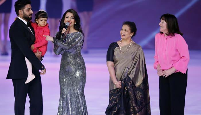 Aishwarya Rai Bachchan felicitated at Miss World 2014