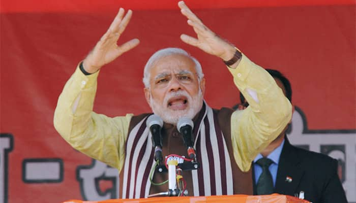 Have to overthrow govt of father-son duo: PM Modi to Jharkhand voters
