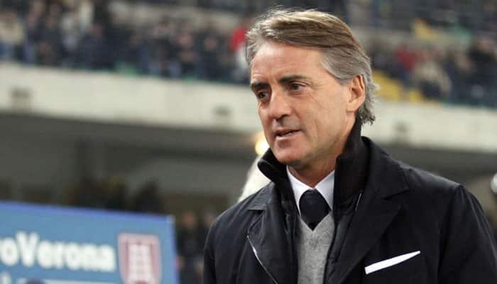 Soggy Serie A breakthrough for Roberto Mancini as Inter Milan triumph