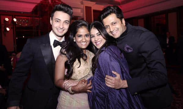 Arpita Khan Sharma :- The sweetest couple I have ever met ! @Riteishd @geneliad @aaysharma -twitter