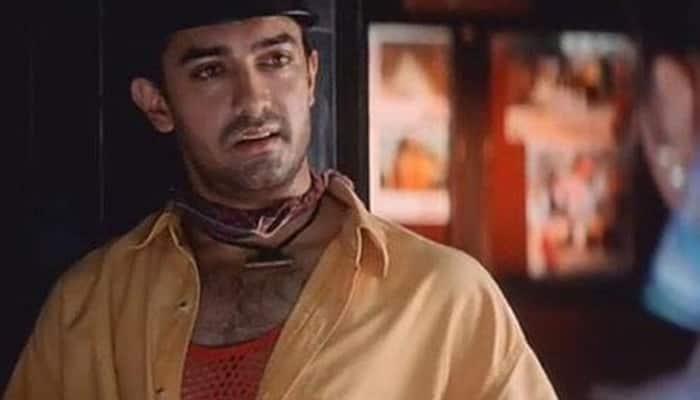A street-smart Aamir Khan in 'Rangeela'.