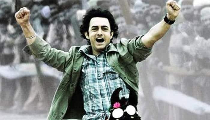 Aamir Khan as a true friend in 'Rang De Basanti'.