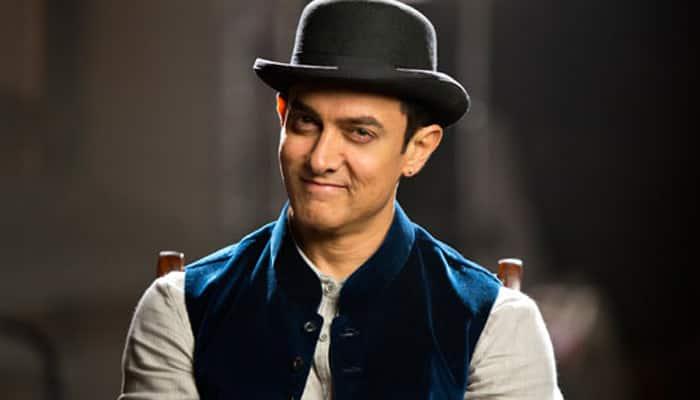 Aamir Khan as a thief in 'Dhoom 3'.