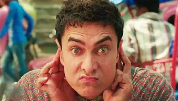 Aamir Khan as Bhojpuri speaking alien in 'PK'.