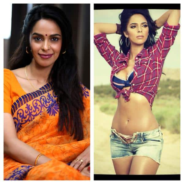 Mallika Sherawat :- 2 different characters!! Lovely tweeple which one do u like:)? -twitter