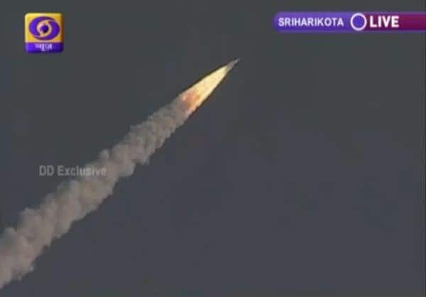 GSLV Mark III successfully launched -twitter