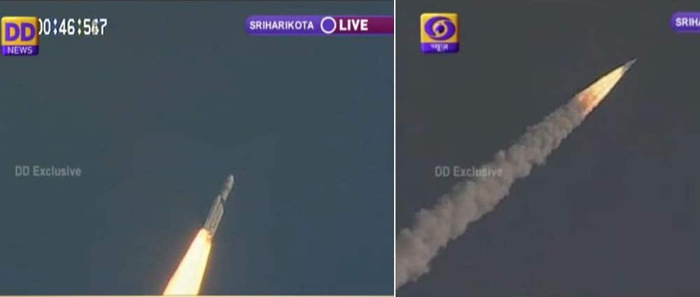 Rocket GSLV Mark III successfully launched -twitter