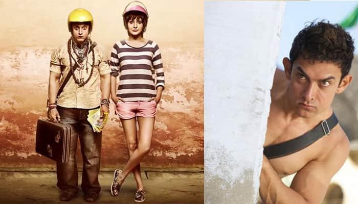 `PK` review: Entertaining, sensitive, Aamir Khan hits bull's eye!