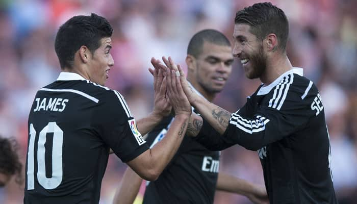 James Rodriguez fit, Sergio Ramos doubtful for Club World Cup final