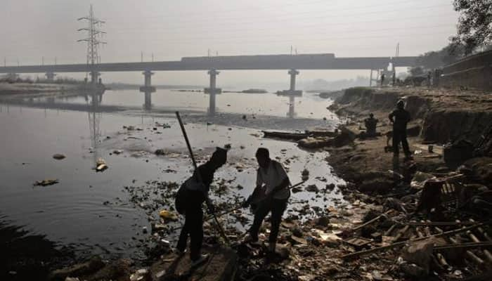 On the banks of Yamuna in Delhi, kids ask 'Where is the river?'