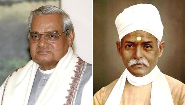 Bharat Ratna for former PM Atal Bihari Vajpayee, freedom fighter Madan Mohan Malaviya
